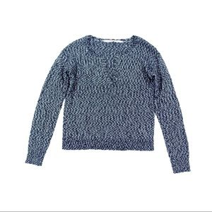 Athleta Knit Sweater Pull Over V Neck Casual